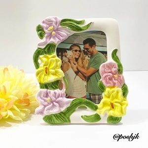 Picture Frame Ceramic Tabletop Standing